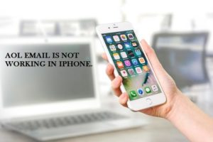 aol email is not working in iphone
